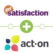 Get Satisfaction to Act-On